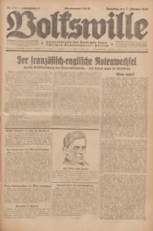 Volkswille : Zentralorgan der Deutschen Sozialistischen Arbeitspartei Polens. Jg.13, Nr. 231 (7 Oktober 1928) + dod.