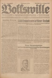 Volkswille : Zentralorgan der Deutschen Sozialistischen Arbeitspartei Polens. Jg.13, Nr. 232 (9 Oktober 1928) + dod.