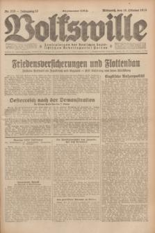 Volkswille : Zentralorgan der Deutschen Sozialistischen Arbeitspartei Polens. Jg.13, Nr. 233 (10 Oktober 1928) + dod.