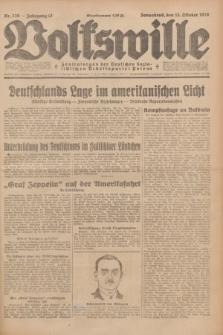 Volkswille : Zentralorgan der Deutschen Sozialistischen Arbeitspartei Polens. Jg.13, Nr. 236 (13 Oktober 1928) + dod.