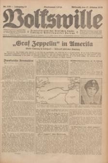 Volkswille : Zentralorgan der Deutschen Sozialistischen Arbeitspartei Polens. Jg.13, Nr. 239 (17 Oktober 1928) + dod.
