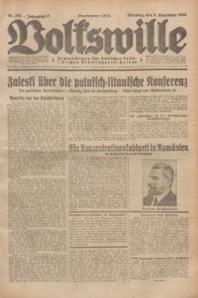 Volkswille : Zentralorgan der Deutschen Sozialistischen Arbeitspartei Polens. Jg.13, Nr. 255 (6 November 1928) + dod.