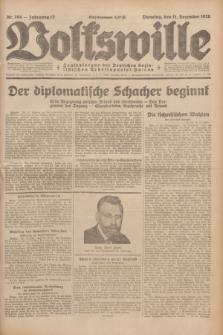 Volkswille : Zentralorgan der Deutschen Sozialistischen Arbeitspartei Polens. Jg.13, Nr. 284 (11 Dezember 1928) + dod.