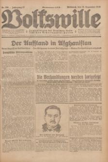 Volkswille : Zentralorgan der Deutschen Sozialistischen Arbeitspartei Polens. Jg.13, Nr. 291 (19 Dezember 1928) + dod.