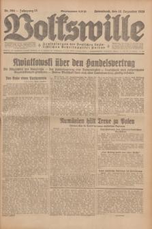 Volkswille : Zentralorgan der Deutschen Sozialistischen Arbeitspartei Polens. Jg.13, Nr. 294 (22 Dezember 1928) + dod.