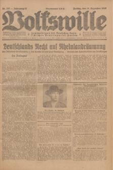 Volkswille : Zentralorgan der Deutschen Sozialistischen Arbeitspartei Polens. Jg.13, Nr. 297 (28 Dezember 1928) + dod.