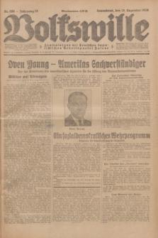 Volkswille : Zentralorgan der Deutschen Sozialistischen Arbeitspartei Polens. Jg.13, Nr. 298 (29 Dezember 1928) + dod.