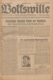 Volkswille : Zentralorgan der Deutschen Sozialistischen Arbeitspartei Polens. Jg.14, Nr. 5 (6 Januar 1929) + dod.