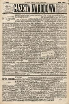 Gazeta Narodowa. 1883, nr133