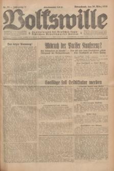 Volkswille : Zentralorgan der Deutschen Sozialistischen Arbeitspartei Polens. Jg.14, Nr. 75 (30 März 1929) + dod.