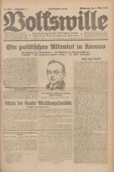 Volkswille : Zentralorgan der Deutschen Sozialistischen Arbeitspartei Polens. Jg.14, Nr. 105 (8 Mai 1929) + dod.