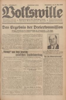 Volkswille : Zentralorgan der Deutschen Sozialistischen Arbeitspartei Polens. Jg.14, Nr. 107 (11 Mai 1929) + dod.