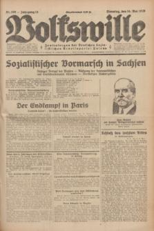 Volkswille : Zentralorgan der Deutschen Sozialistischen Arbeitspartei Polens. Jg.14, Nr. 109 (14 Mai 1929) + dod.