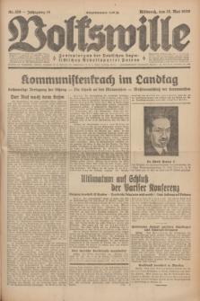 Volkswille : Zentralorgan der Deutschen Sozialistischen Arbeitspartei Polens. Jg.14, Nr. 110 (15 Mai 1929) + dod.