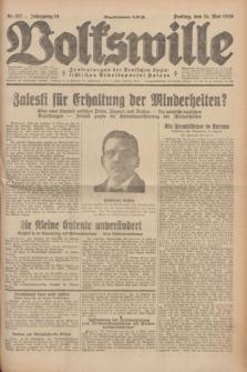 Volkswille : Zentralorgan der Deutschen Sozialistischen Arbeitspartei Polens. Jg.14, Nr. 117 (24 Mai 1929) + dod.