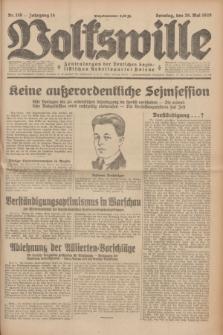 Volkswille : Zentralorgan der Deutschen Sozialistischen Arbeitspartei Polens. Jg.14, Nr. 119 (26 Mai 1929) + dod.