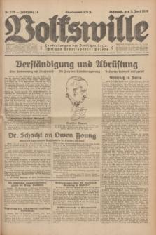 Volkswille : Zentralorgan der Deutschen Sozialistischen Arbeitspartei Polens. Jg.14, Nr. 126 (5 Juni 1929) + dod.
