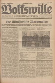 Volkswille : Zentralorgan der Deutschen Sozialistischen Arbeitspartei Polens. Jg.14, Nr. 130 (9 Juni 1929) + dod.