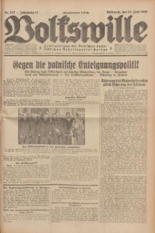Volkswille : Zentralorgan der Deutschen Sozialistischen Arbeitspartei Polens. Jg.14, Nr. 132 (12 Juni 1929) + dod.