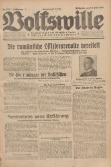 Volkswille : Zentralorgan der Deutschen Sozialistischen Arbeitspartei Polens. Jg.14, Nr. 155 (10 Juli 1929) + dod.