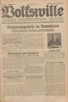 Volkswille : Zentralorgan der Deutschen Sozialistischen Arbeitspartei Polens. Jg.14, Nr. 157 (12 Juli 1929) + dod.