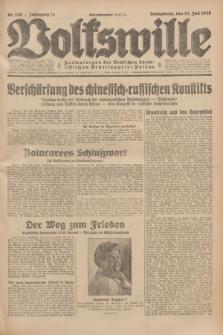Volkswille : Zentralorgan der Deutschen Sozialistischen Arbeitspartei Polens. Jg.14, Nr. 158 (13 Juli 1929) + dod.