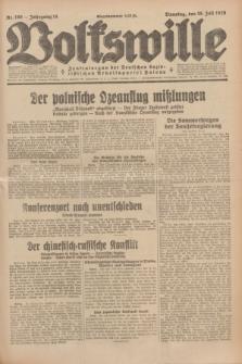 Volkswille : Zentralorgan der Deutschen Sozialistischen Arbeitspartei Polens. Jg.14, Nr. 160 (16 Juli 1929) + dod.