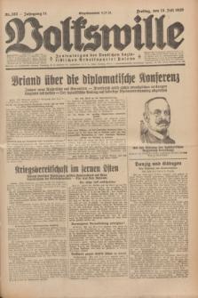 Volkswille : Zentralorgan der Deutschen Sozialistischen Arbeitspartei Polens. Jg.14, Nr. 163 (19 Juli 1929) + dod.