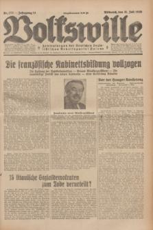 Volkswille : Zentralorgan der Deutschen Sozialistischen Arbeitspartei Polens. Jg.14, Nr. 173 (31 Juli 1929) + dod.