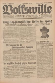 Volkswille : Zentralorgan der Deutschen Sozialistischen Arbeitspartei Polens. Jg.14, Nr. 180 (8 August 1929) + dod.