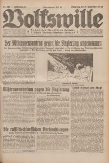 Volkswille : Organ der Deutschen Sozialistischen Arbeitspartei Polens. Jg.14, Nr. 283 (8 Dezezmber 1929) + dod.