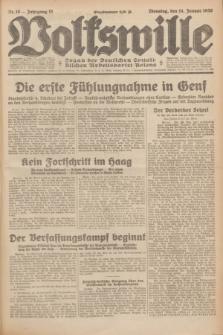 Volkswille : Organ der Deutschen Sozialistischen Arbeitspartei Polens. Jg.15, Nr. 10 (14 Januar 1930) + dod.