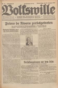 Volkswille : Organ der Deutschen Sozialistischen Arbeitspartei Polens. Jg.15, Nr. 24 (30 Januar 1930) + dod.