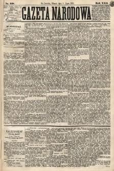 Gazeta Narodowa. 1883, nr148