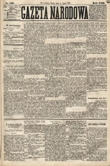 Gazeta Narodowa. 1883, nr149