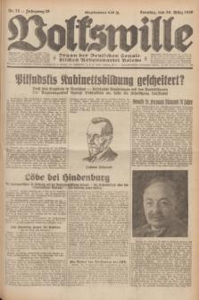 Volkswille : Organ der Deutschen Sozialistischen Arbeitspartei Polens. Jg.16 [i.e.15], Nr. 75 (30 März 1930) + dod.