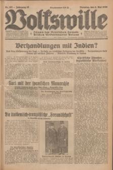 Volkswille : Organ der Deutschen Sozialistischen Arbeitspartei Polens. Jg.16 [i.e.15], Nr. 103 (6 Mai 1930) + dod.