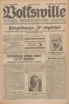 Volkswille : Organ der Deutschen Sozialistischen Arbeitspartei Polens. Jg.16 [i.e.15], Nr. 107 (10 Mai 1930) + dod.