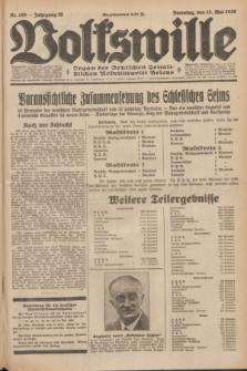 Volkswille : Organ der Deutschen Sozialistischen Arbeitspartei Polens. Jg.16 [i.e.15], Nr. 109 (13 Mai 1930) + dod.