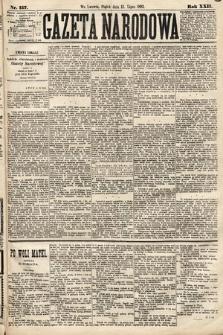 Gazeta Narodowa. 1883, nr157