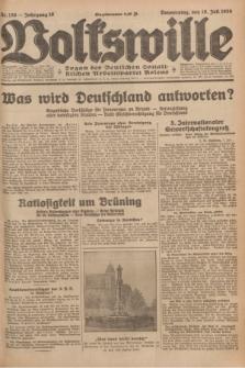 Volkswille : organ der Deutschen Sozialistischen Arbeitspartei Polens. Jg.16 [i.e.15], Nr. 156 (10 Juli 1930) + dod.