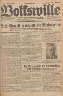 Volkswille : organ der Deutschen Sozialistischen Arbeitspartei Polens. Jg.16 [i.e.15], Nr. 168 (24 Juli 1930) + dod.