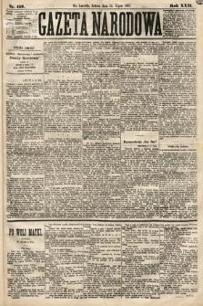 Gazeta Narodowa. 1883, nr158