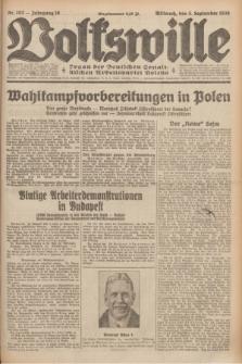 Volkswille : organ der Deutschen Sozialistischen Arbeitspartei Polens. Jg.16 [i.e.15], Nr. 202 (3 September 1930) + dod.