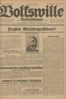 Volkswille : zugleich Volksstimme für Bielitz : Organ der Deutschen Sozialistischen Arbeitspartei in Polen. Jg.17, Nr. 120 (28 Mai 1931) + dod.