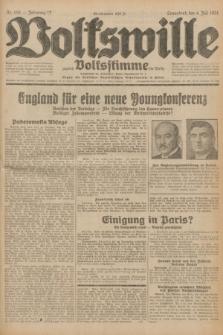 Volkswille : zugleich Volksstimme für Bielitz : Organ der Deutschen Sozialistischen Arbeitspartei in Polen. Jg.17, Nr. 150 (4 Juli 1931) + dod.