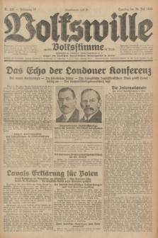 Volkswille : zugleich Volksstimme für Bielitz : Organ der Deutschen Sozialistischen Arbeitspartei in Polen. Jg.17, Nr. 169 (26 Juli 1931) + dod.