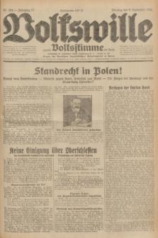 Volkswille : zugleich Volksstimme für Bielitz : Organ der Deutschen Sozialistischen Arbeitspartei in Polen. Jg.17, Nr. 204 (6 September 1931) + dod.