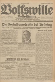 Volkswille : zugleich Volksstimme für Bielitz : Organ der Deutschen Sozialistischen Arbeitspartei in Polen. Jg.17, Nr. 226 (2 Oktober 1931) + dod.