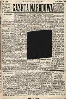 Gazeta Narodowa. 1883, nr172